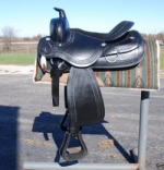 Draft horse saddle # 4024 BLACK